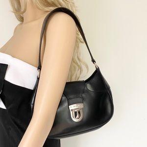 Prada Semitracolla Leather Shoulder/Handbag